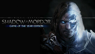 Middle Earth Shadow of Mordor GOTY Edition, Steam Key (PC) -FAST email delivery
