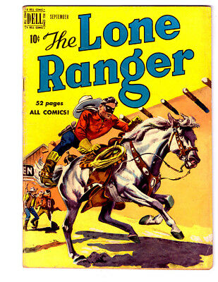 The LONE RANGER #27 in VG/FN condition a 1950 DELL Golden Age comic