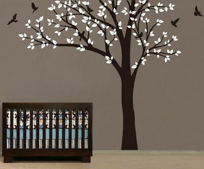 Large Nursery Tree Wall Stickers Kid Room Decor Removable Decal Art Mural Gift