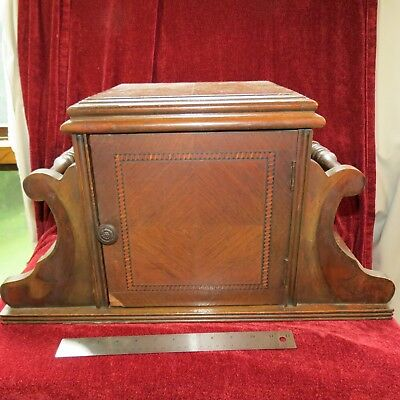 Vintage 1930's Smoking Stand Copper Lined Humidor Magazine Rack Price Lowered!!
