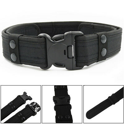 AU Outdoor Heavy Duty Army Belt Military Tactical Quick-Release Plastic Buckle