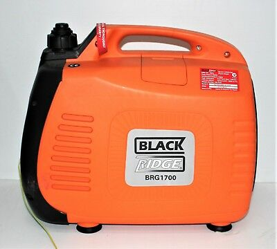 BlackRidge 3.5L Portable 4 Stroke Petrol Inverter Generator BRG1700 #64929