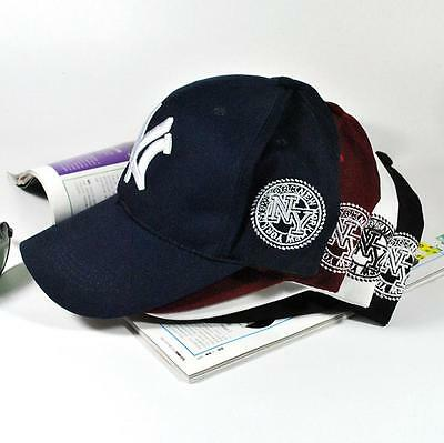 New Mens Womens Baseball Cap Hip-Hop Hat Adjustable NY Snapback Sport NEW YORK