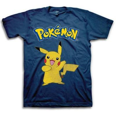 c9478574 Pikachu t-shirt - Pokemon Go Game Cute Kawaii Anime Licensed Tee Adult Shirt