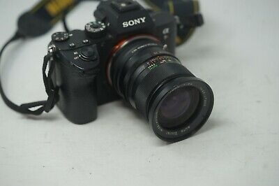 Sony E Mount Adapted 28Mm F2.5 Vivitar Wide Prime Lens All A7 Nex,A6000