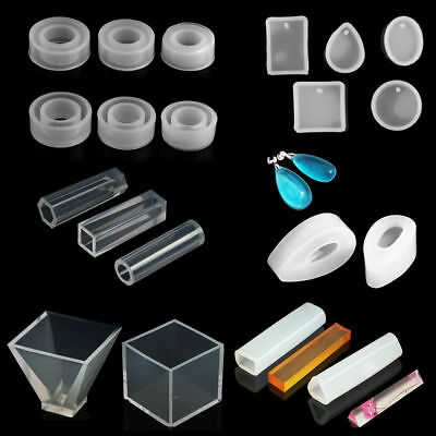 DIY Silicone Pendant Molds For Making Jewelry Resin Casting Mould Craft Tools