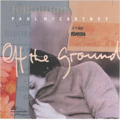 Paul McCartney – Off The Ground - CD Maxi Single Capitol Like NEW! RARE & OOP!