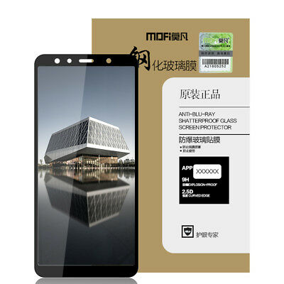 For Samsung Galaxy A7 2018 A750, Mofi Full Cover Tempered Glass Screen Protector