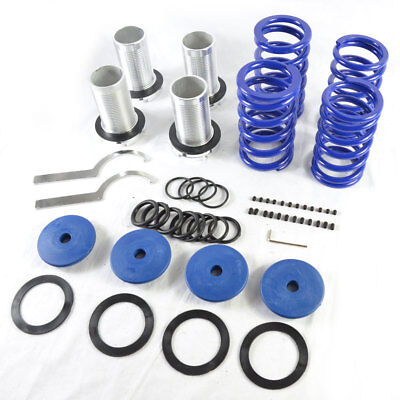 Coilovers lowering spring coil over fit Honda Accord 98-02 1999 2000 Blue