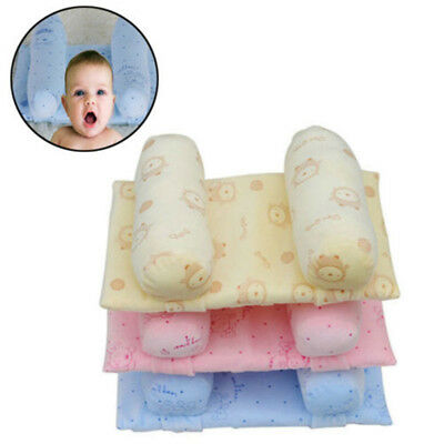 Baby Infant Anti Roll Sleeping Pillow Support Prevent Flat Soft Sleep Adjustable