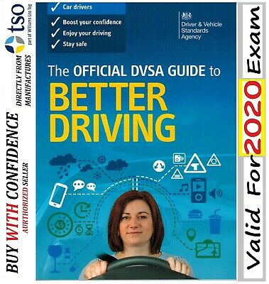 The Official DVSA Guide To Better Driving BooK For 2019 - BTrDng B