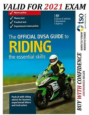 The Official DVSA Guide to Riding: Essential Skills for Motorcyclists - EsnmTr