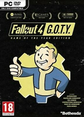 Fallout 4 Game of the Year (GOTY) Edition STEAM GLOBAL PC KEY