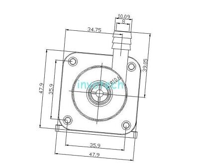 Dc 12v Irrigation Magnetic Electric Centrifugal Water Pump