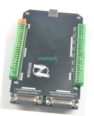 NEW 5 AXIS USB MACH3 Controller CNC Interface Breakout Board