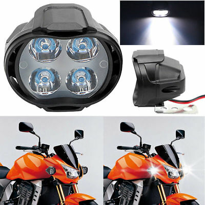 US Motorcycle Headlight Spot Lights Head Lamp LED Front DC12V Driving