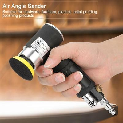 AT-1502 2'' 3'' Air Sander Pad 90°Degree Pneumatic Orbital Polishing Machine