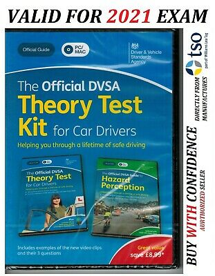 The Official DVSA 2019by Driver and Vehicle Standards*Complete Theory Test - KiT