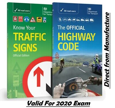 DVSA OFFICIAL HIGHWAY CODE & KNOW YOUR TRAFFIC SIGNS PAPERBACK-TrFc+Hw