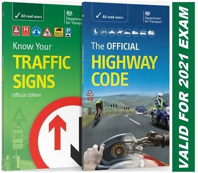 DVSA OFFICIAL HIGHWAY CODE & KNOW YOUR TRAFFIC SIGNS PAPERBACK 2018/2019-TrFc+H