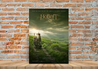 A4 POSTER A3 HOBBIT MOVIE GANDALF QUOTE TYPOGRAPHY WALL ART DESIGN