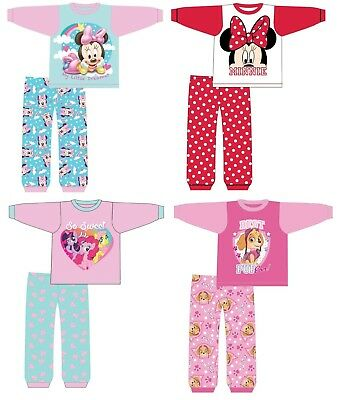Baby Girls Character Pyjamas Pjs Nifghwear Ages 6 months to 24 Months