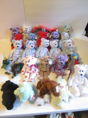 TY Beanie Babies - Lot of 25 Assorted Animals (Lot 3) d493f9597cb7