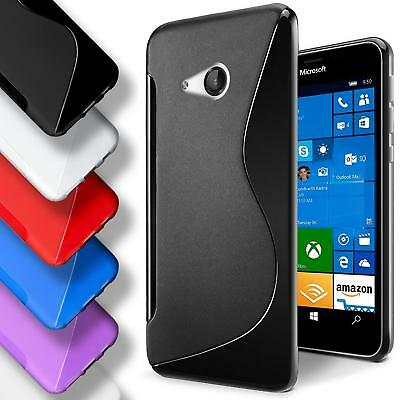 pretty nice 94758 6f0d1 ULTRA THIN S-LINE Wave Gel Silicone Case Cover For Nokia/Microsoft ...