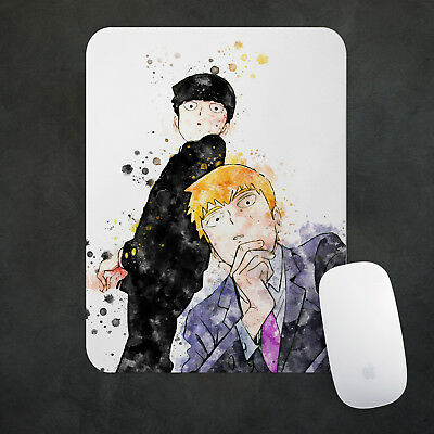 Mob Psycho 100 Anime Mouse Pad Large Gaming Mousepad Desk Mat 38x48cm Gift n753
