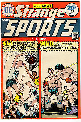 Strange Sports Stories #4 (1974) DC Comics - F