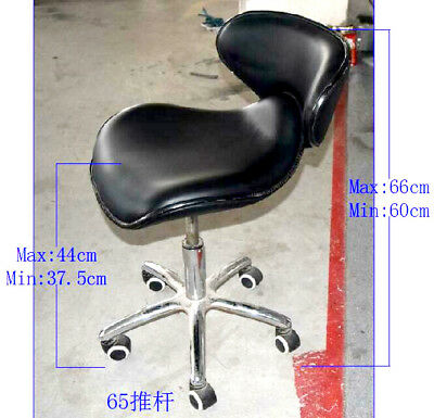 Stool Gas lift for Therapy, Spa massage chair, Manicure table  black 37,5 -44 cm