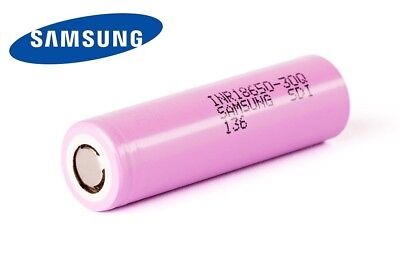 New Samsung 30Q INR 18650 3000mAh (15A) 3.7V Flat Top Cell Rechargeable Battery