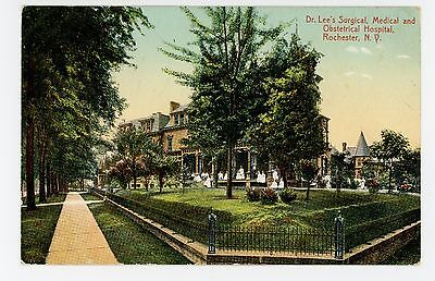 Doctor Lee's Surgical, Medical, Obstetrical Hosptial—Rochester NY Antique 1910s