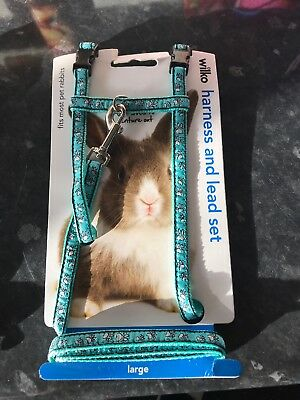 Rabbit Lead And Harness Set - Large