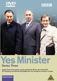Yes Minister Complete 3rd Series Dvd Brand New & Factory Sealed