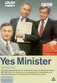 Yes Minister Complete 1st Series Dvd Brand New & Factory Sealed