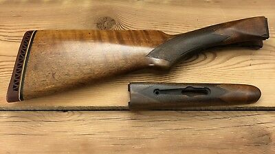 318 early winchester model 21 20 gauge stock forearm sn 4851