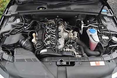 2010 AUDI A4 B8 2 0 Tdi 143Bhp Caga Engine With Turbo Pump & Injectors