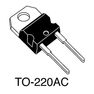 20 x IXYS DSS16-01A Schottky Diode, 100V 16A, 2-Pin TO-220AC