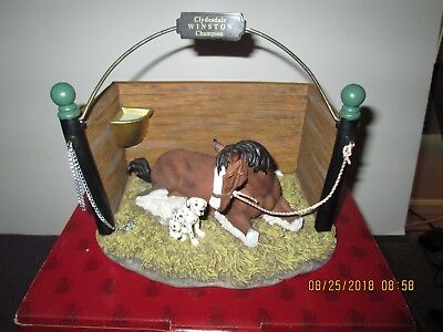 "Budweiser Clydesdale Collection """"Pals"""