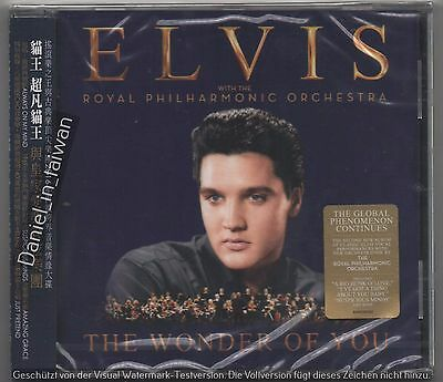 Elvis Presley with The Royal Philharmonic The wonder of you (2016) TAIWAN OBI CD