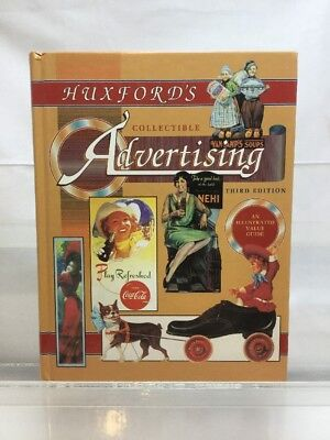 CG Huxford's Collectible Advertising ID & Value Guide 3rd edition