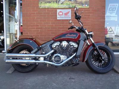 Indian Scout Standard Bike Low Miles