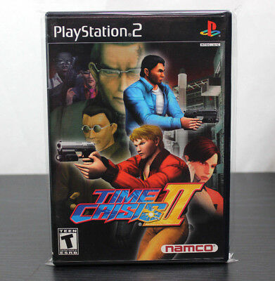 PlayStation 2  Time Crisis II  Buy 3 Get 1 Free Ps2
