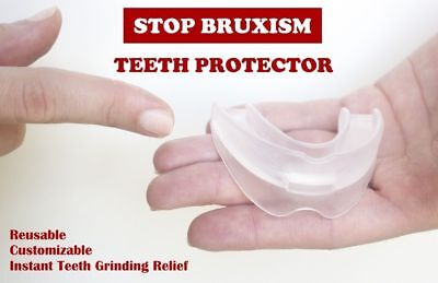 Dental Mouth Guard for Teeth Grinding, Bruxism, TMJ, Stop Teeth Clenching