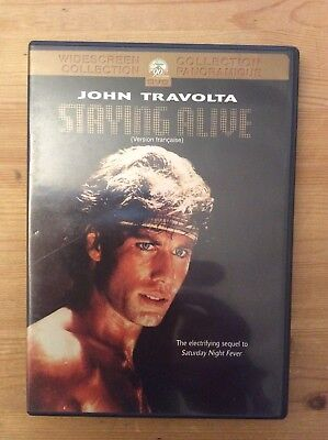Staying Alive, 1983 John Travolta (DVD, Widescreen) *No Tax*