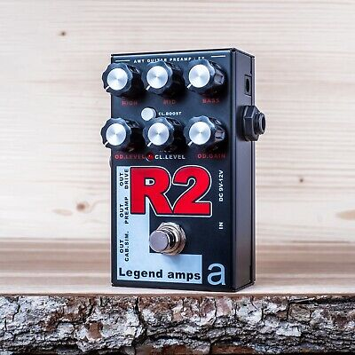 AMT Electronics R2 – Legend Amps 2 - two channel guitar preamp/distortion pedal