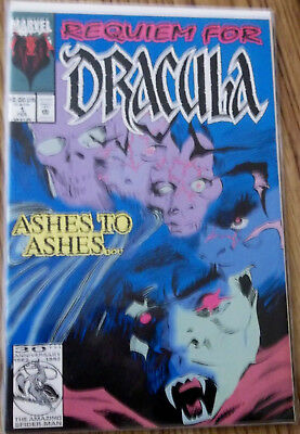Stan Lee Presents REQUIEM FOR DRACULA #1 Marvel 1992 One Shot! New!