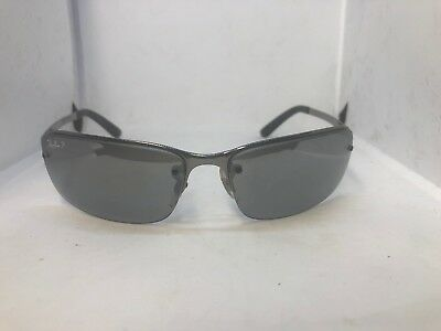 d20188ceb0 RAY BAN RB3217 004 82 Sunglasses 58-15 3PGradient Tint Silver Semi Rimless  Italy