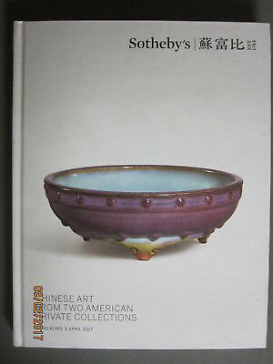Sotheby 4/5/17 Chinese Antique porcelain ceramics from two American Collections